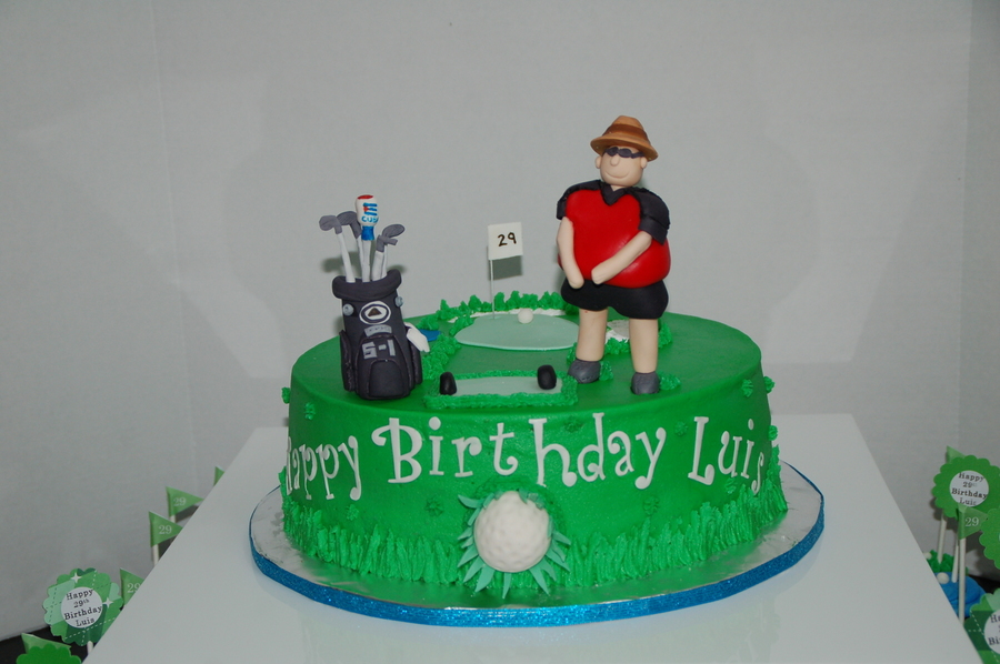 Golf on Cake Central