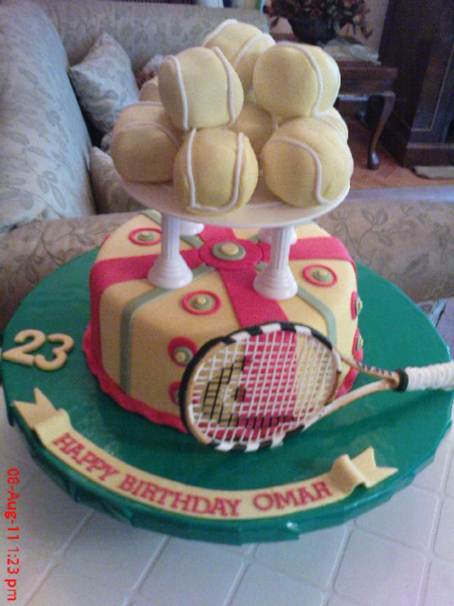 Tennis on Cake Central
