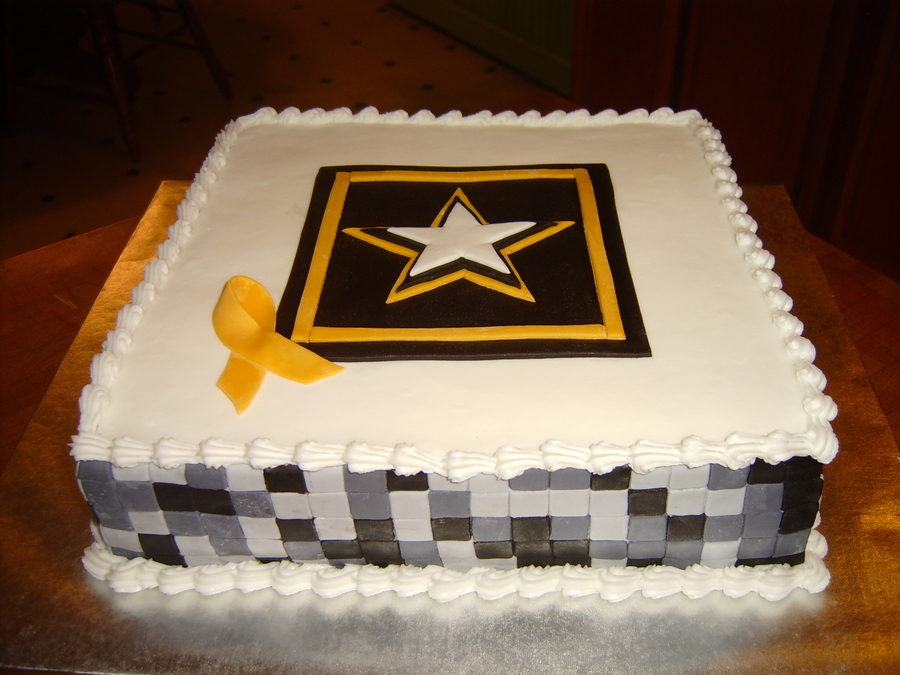 Army on Cake Central