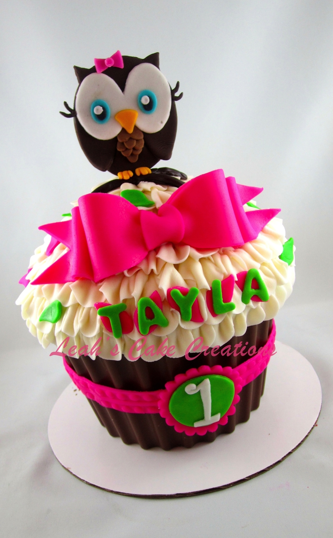 Owl Baby Shower Cake Cupcakes