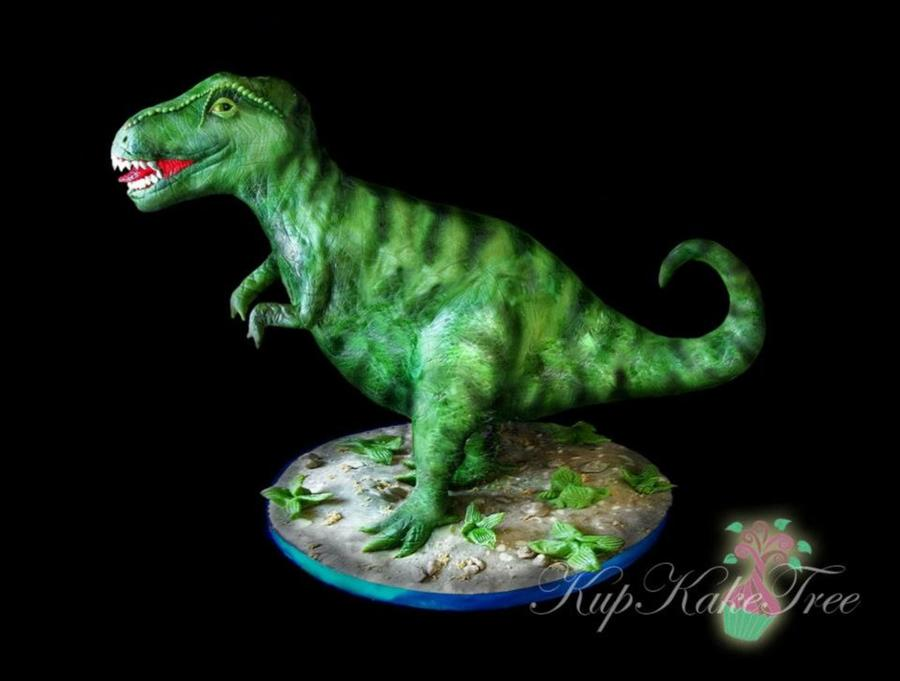 900 7305938SBD 3d t rex cake  Year Old Birthday Cakes For A Boy