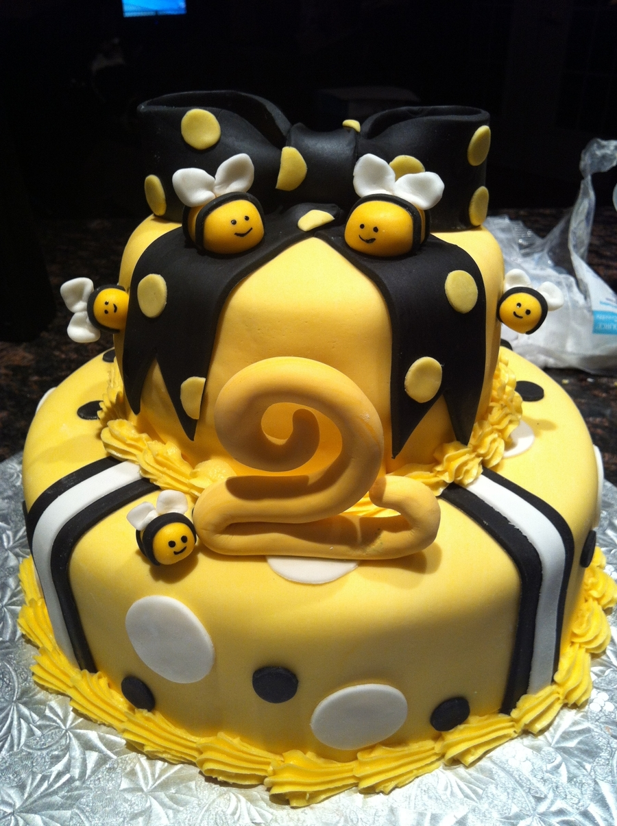 Twin Bees on Cake Central