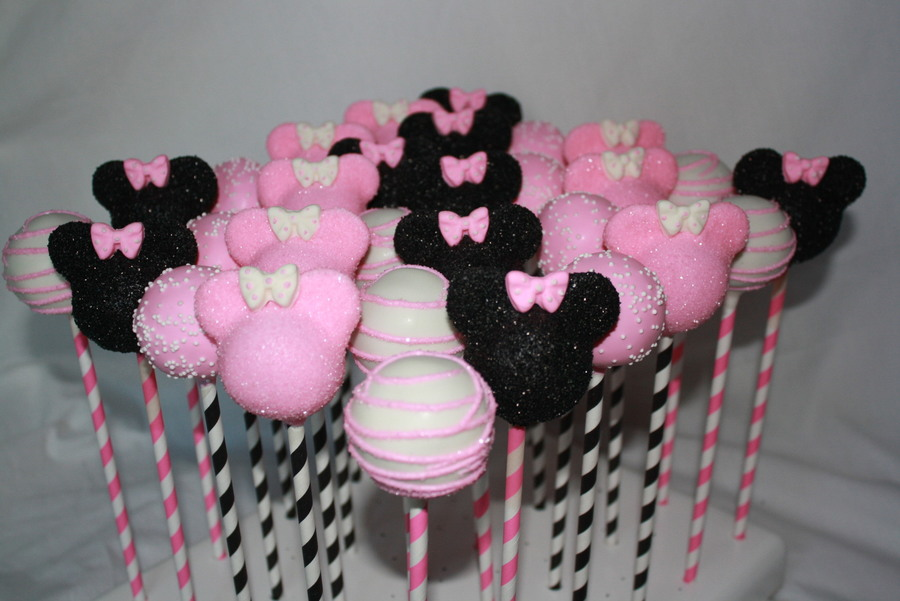 Mickey Mouse Cake Pops Ideas