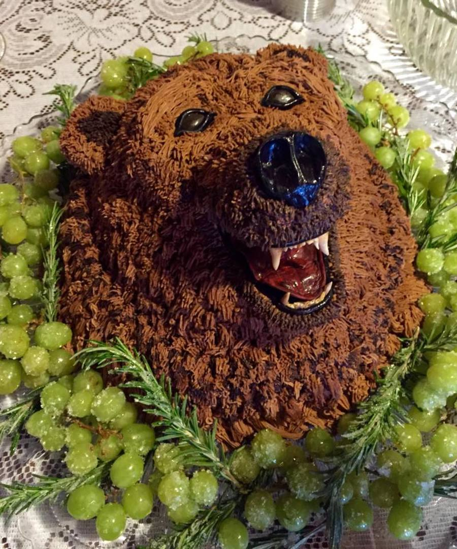 Grizzly Bear Cake Cakecentral Com