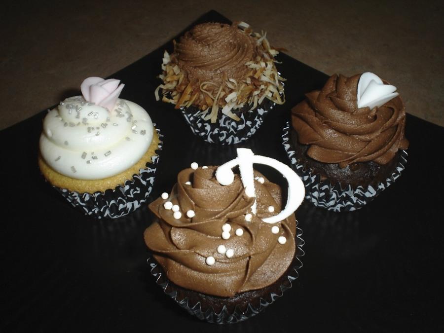 chocolatecoconut wedding shower cupcake designs on cake central