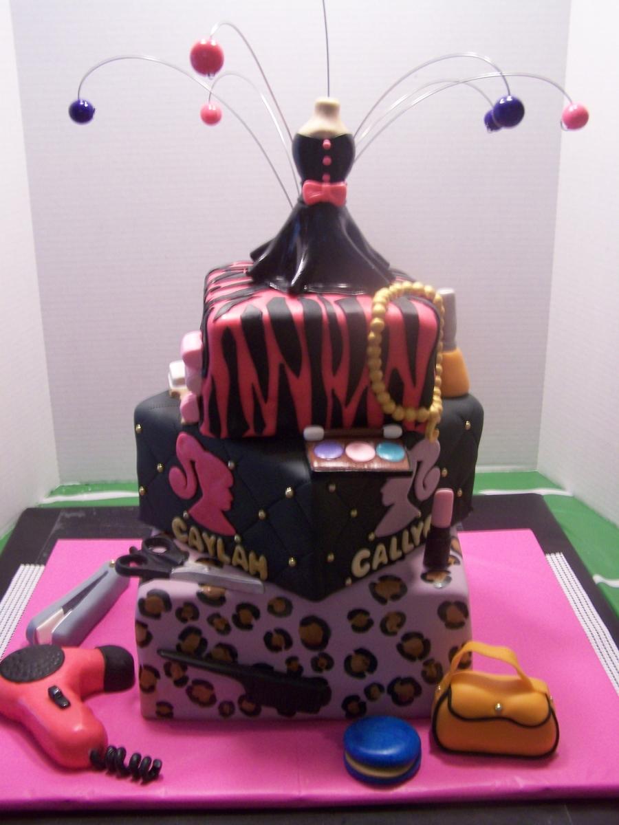 Girls Rock Birthday Cake CakeCentralcom