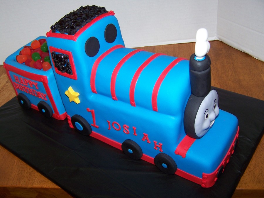 Thomas The Tank Birthday Cake on Cake Central