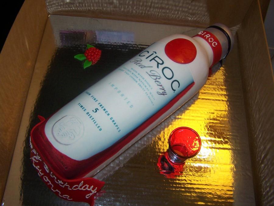 Red Velvet Cake Flavored Alcohol