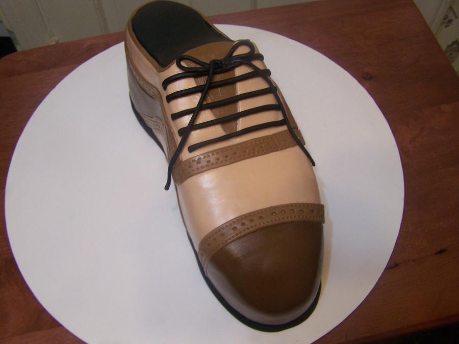 Men's Shoe  on Cake Central