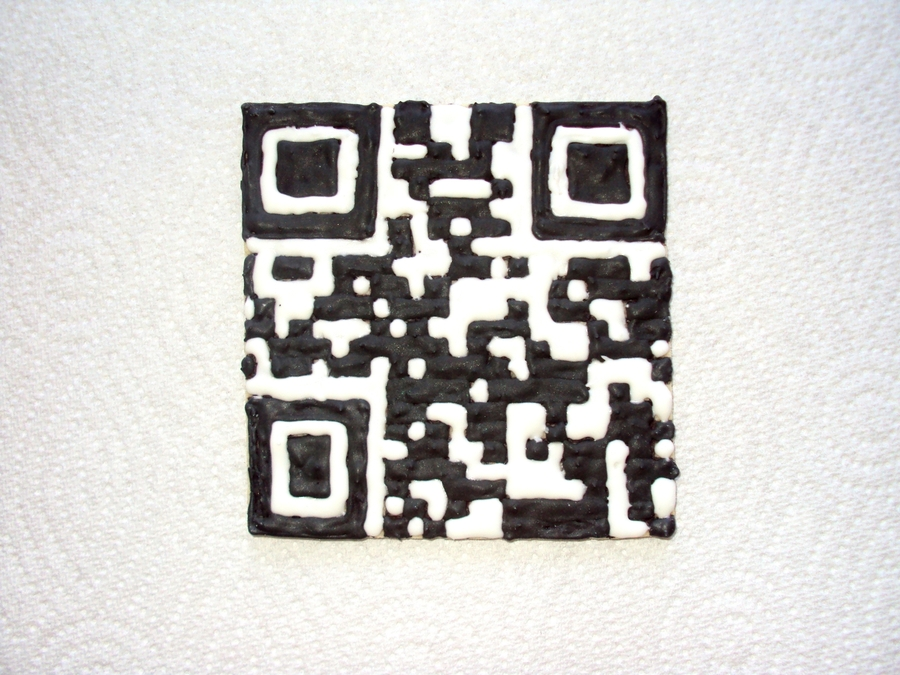 Qr Code Sugar Cookie on Cake Central