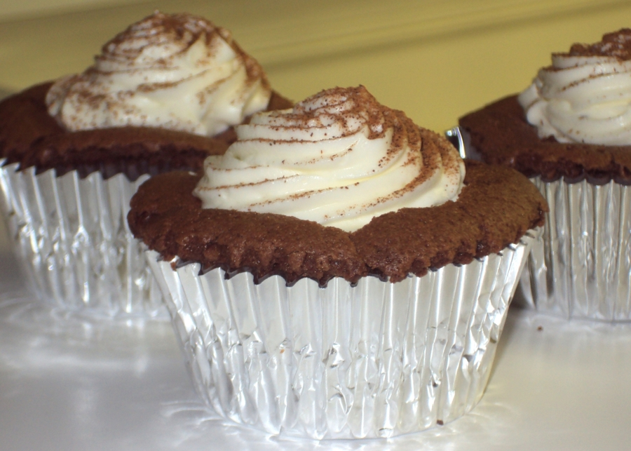 Chocolate Souffle Cupcakes on Cake Central