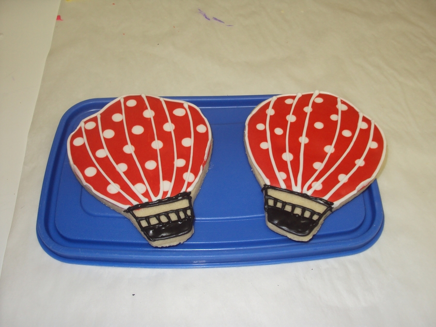 Hot Air Balloons on Cake Central