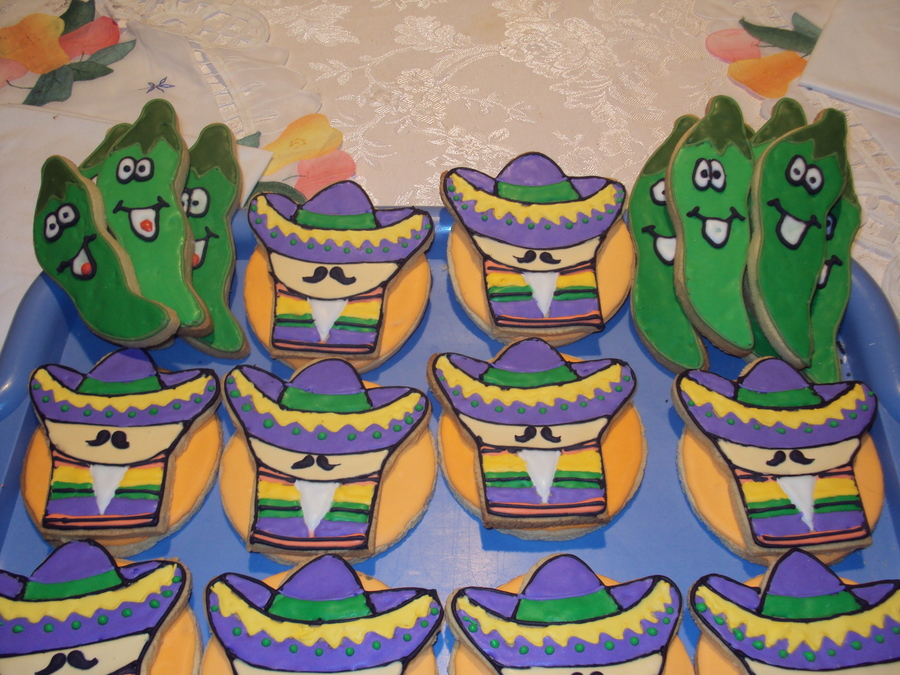 Sombreros And Jalapenos on Cake Central