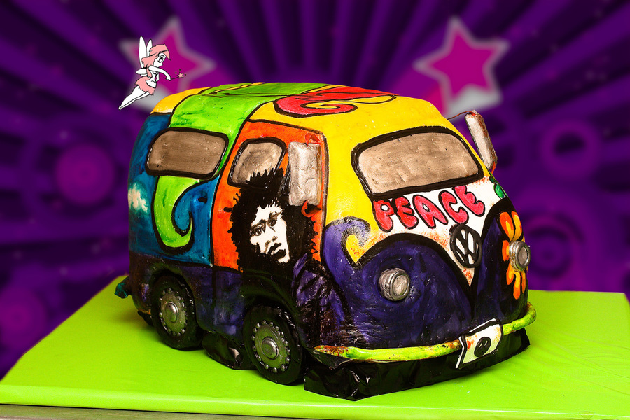 Hippie Van on Cake Central