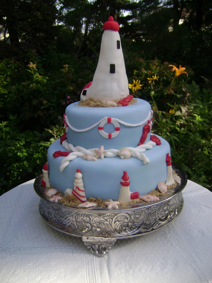 Lighthouse Cake Cakecentral Com