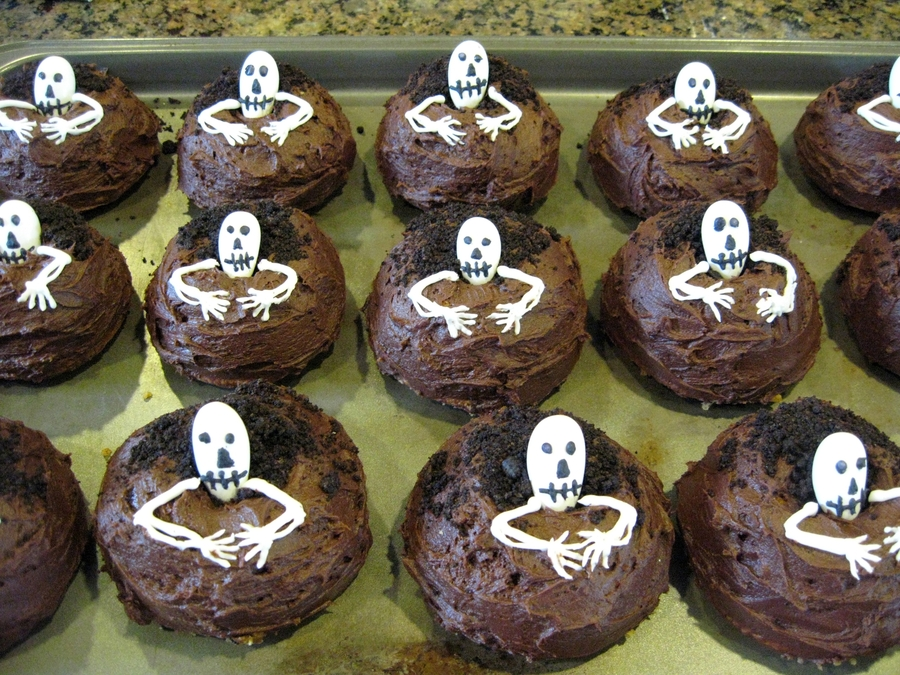 Day Of The Dead Mini Bundt Cakes 2009 on Cake Central