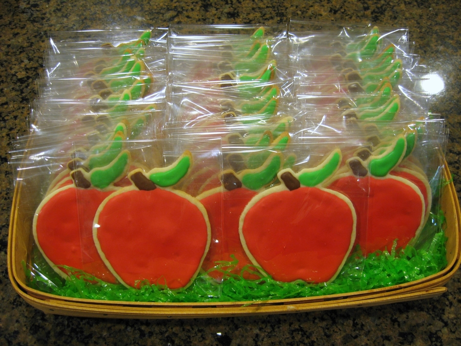Woodlands Prep Teacher Appreciation Cookies on Cake Central