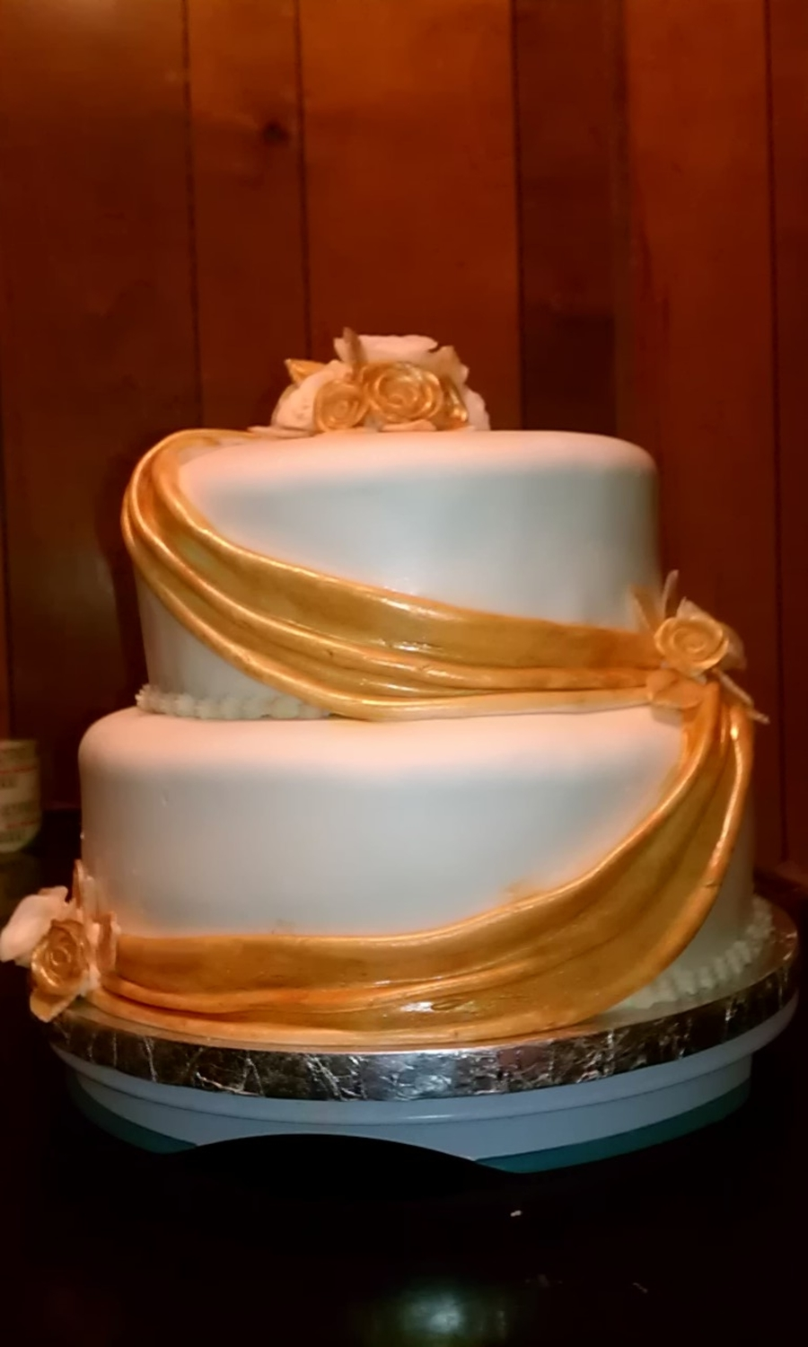 Golden Bliss on Cake Central