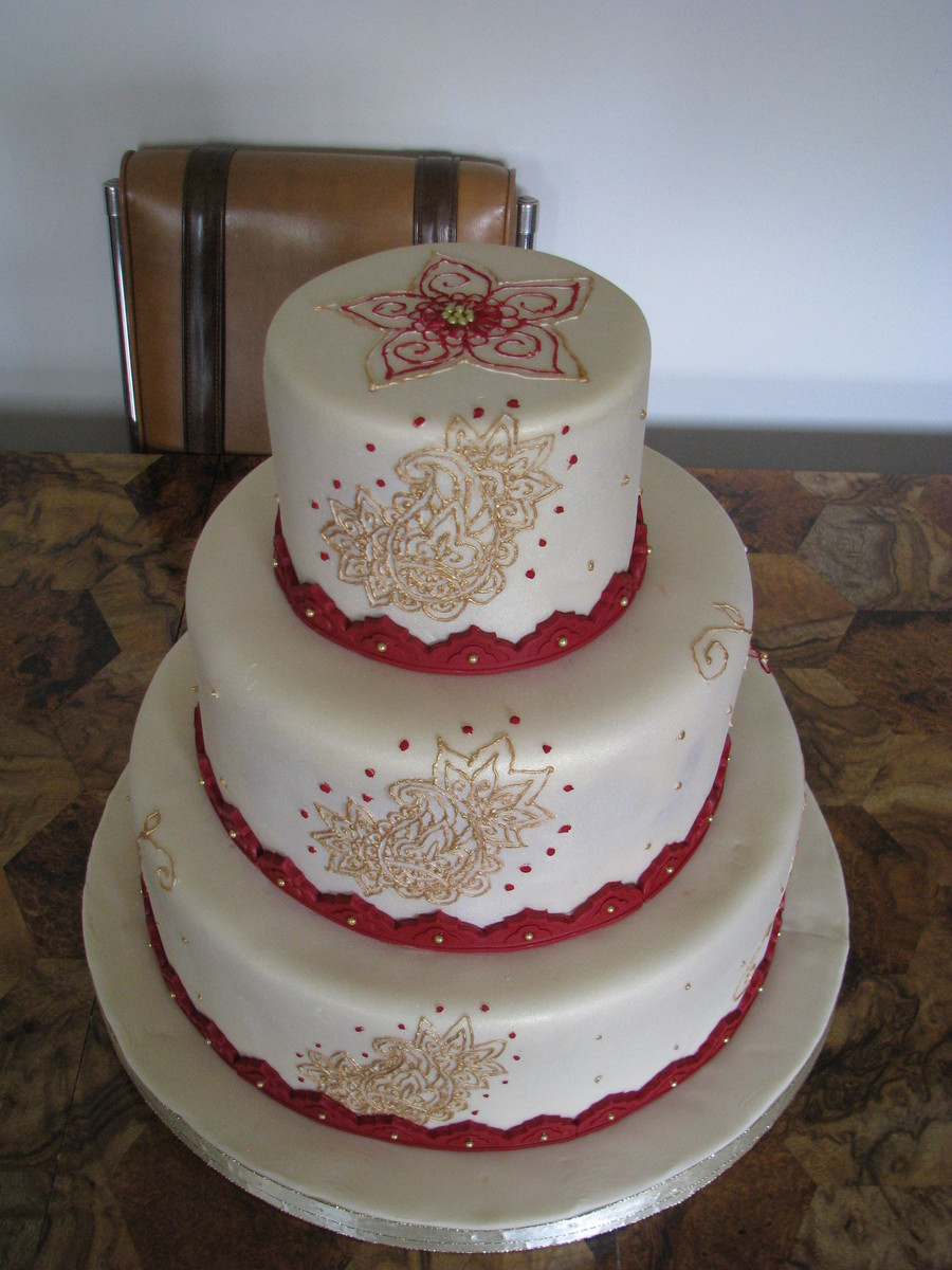 Moroccan Wedding Cake on Cake Central