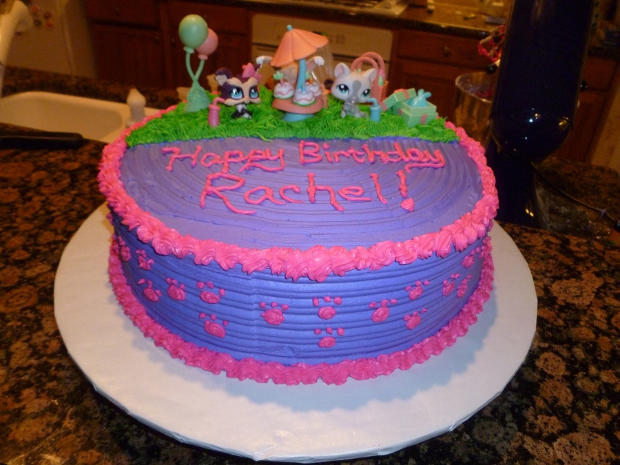 Excellent Littlest Pet Shop Lps Birthday Cake Cakecentral Com Funny Birthday Cards Online Elaedamsfinfo