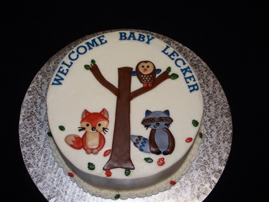 Forest Friends on Cake Central