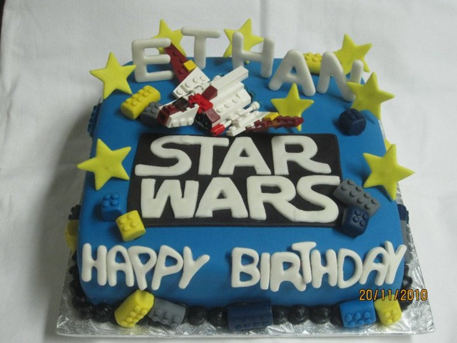Star Wars Lego  on Cake Central
