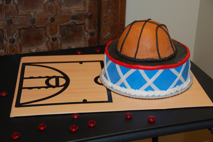 Basketball Court on Cake Central