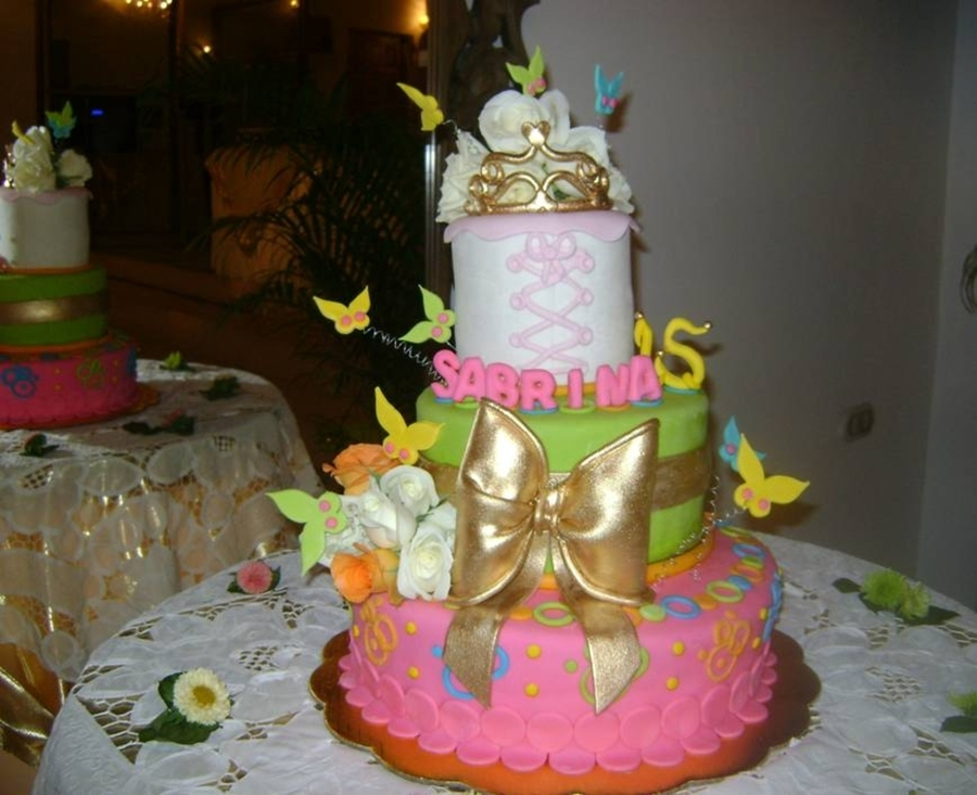 """sweet 15"" on Cake Central"