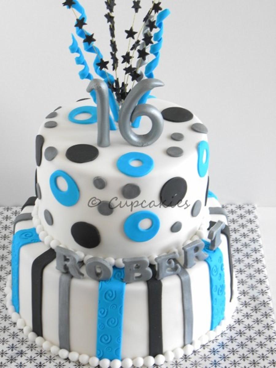 Enjoyable 16Th Birthday Boy Cakecentral Com Funny Birthday Cards Online Chimdamsfinfo