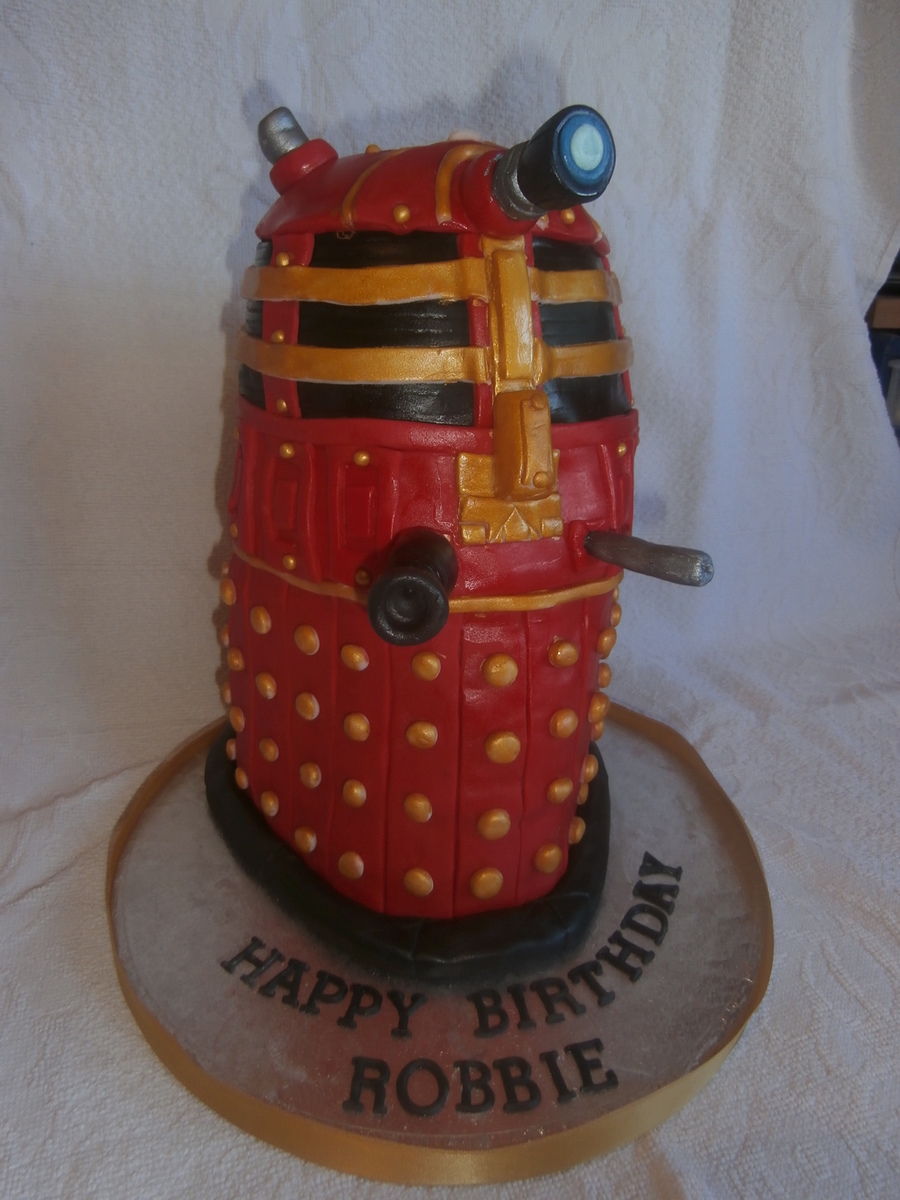 Darlek on Cake Central