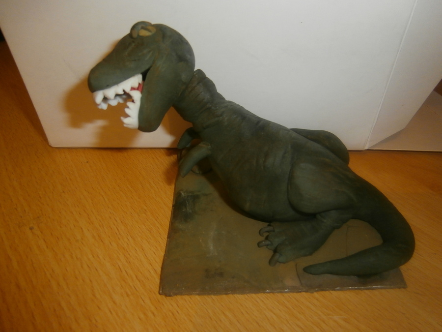 T Rex Made With Sugar Paste  on Cake Central