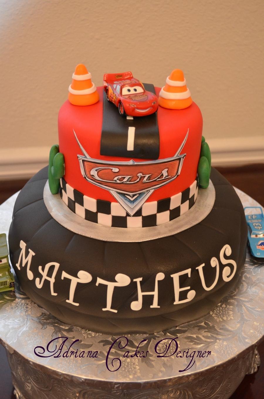 Disney Cars! - CakeCentral.com