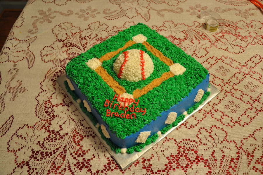 Baseball Birthday on Cake Central