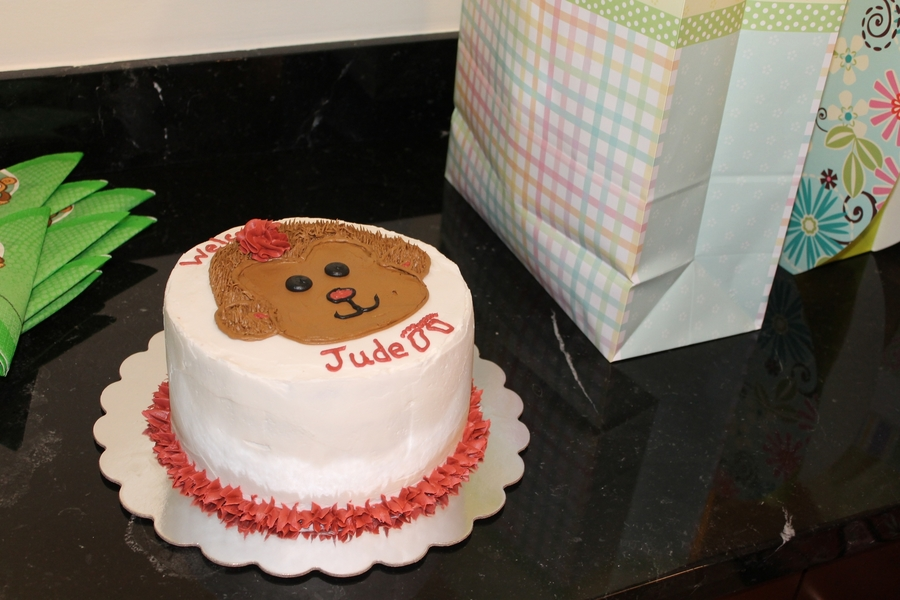 Welcome Baby Jude on Cake Central