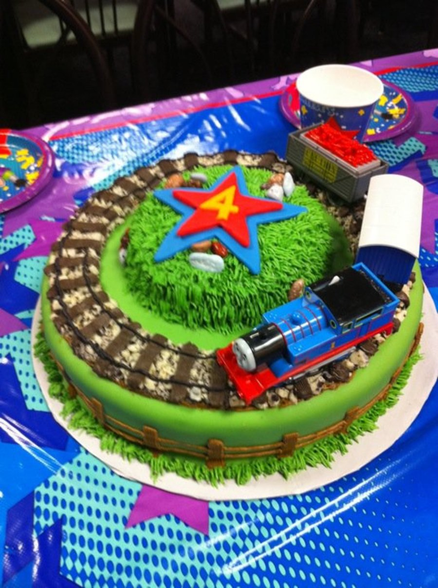 Thomas The Train! on Cake Central