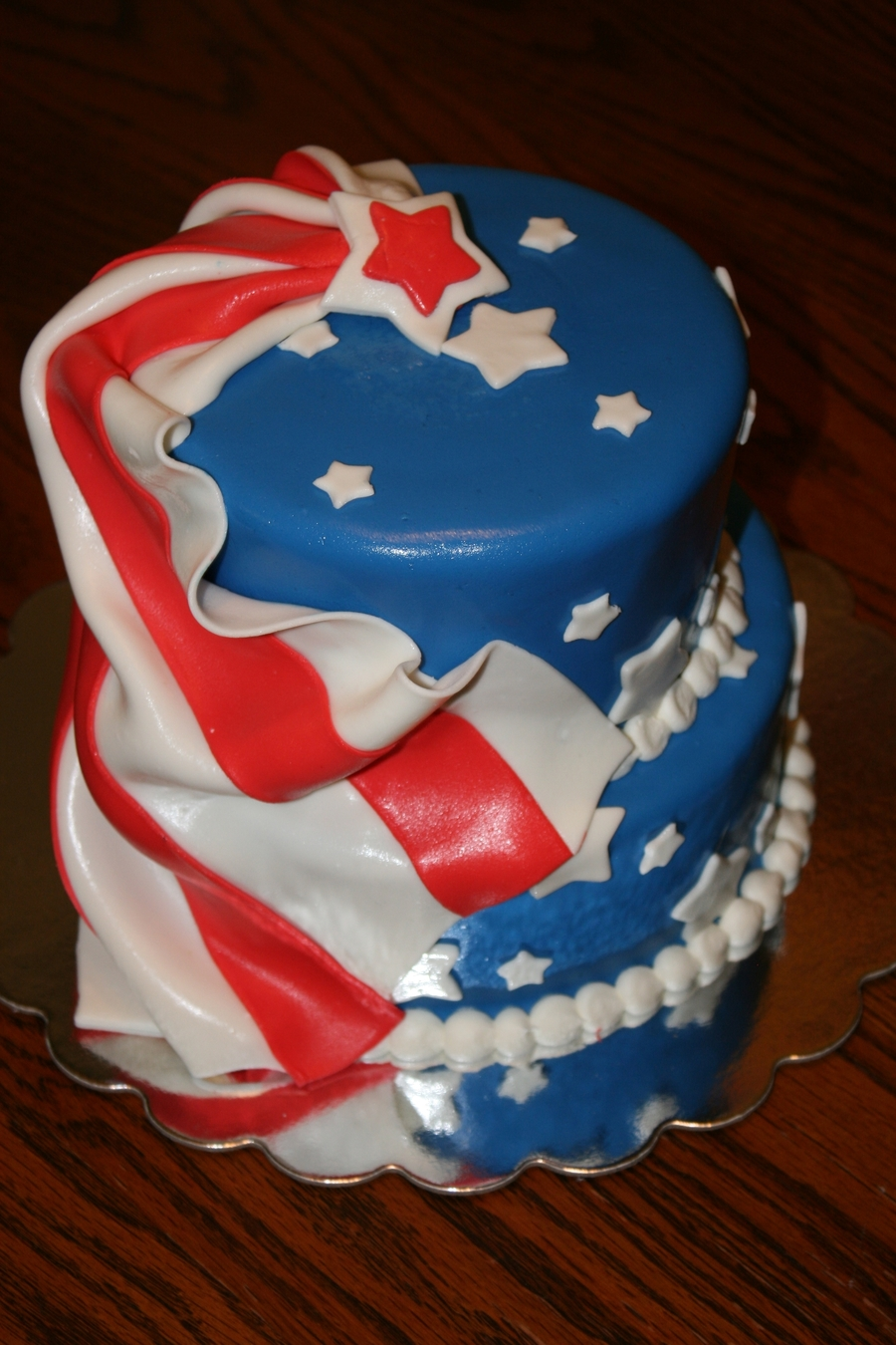 Our Very Own 4Th Of July Cake on Cake Central