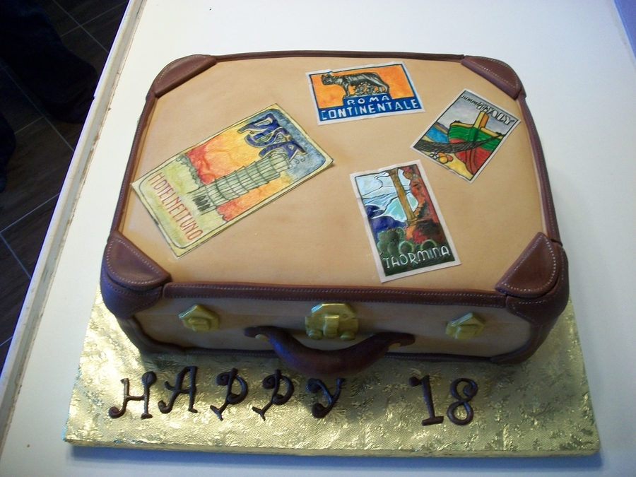 Luggage 18th Birthday Cake Cakecentral