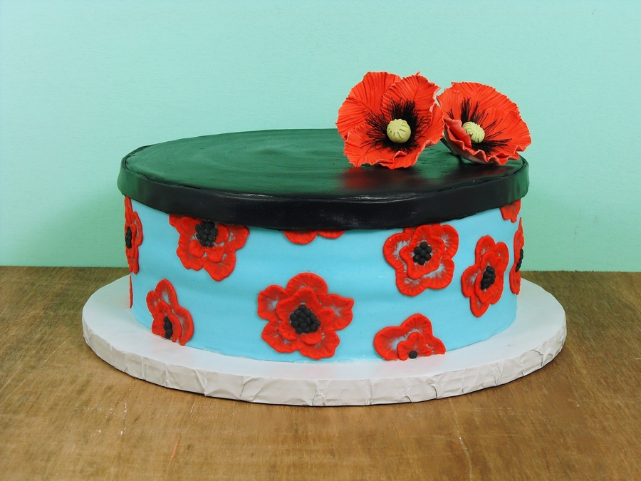 Hat Box Cake  on Cake Central
