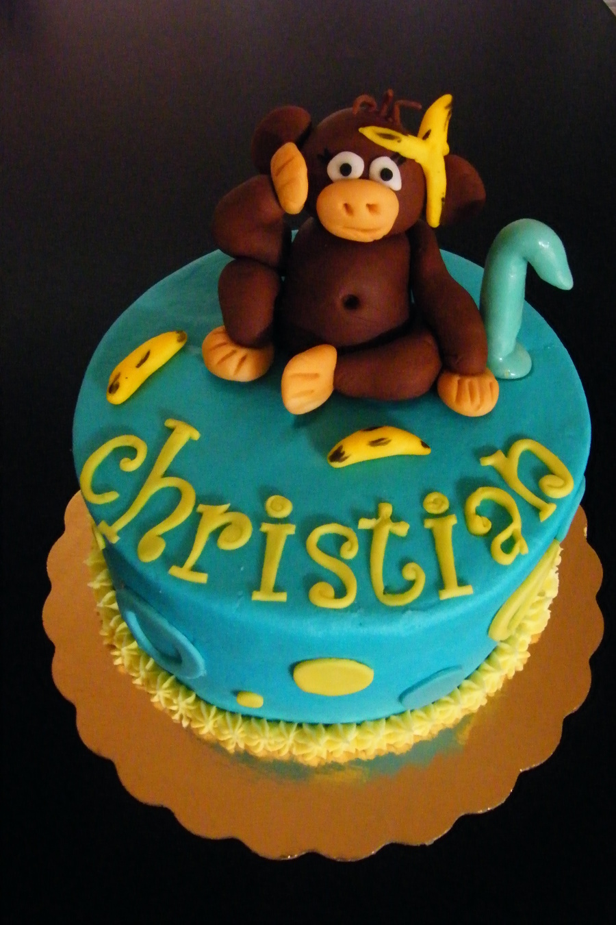 Monkey Smash! on Cake Central