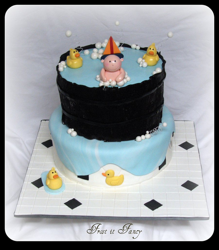 One More Baby Shower Theme Cake on Cake Central