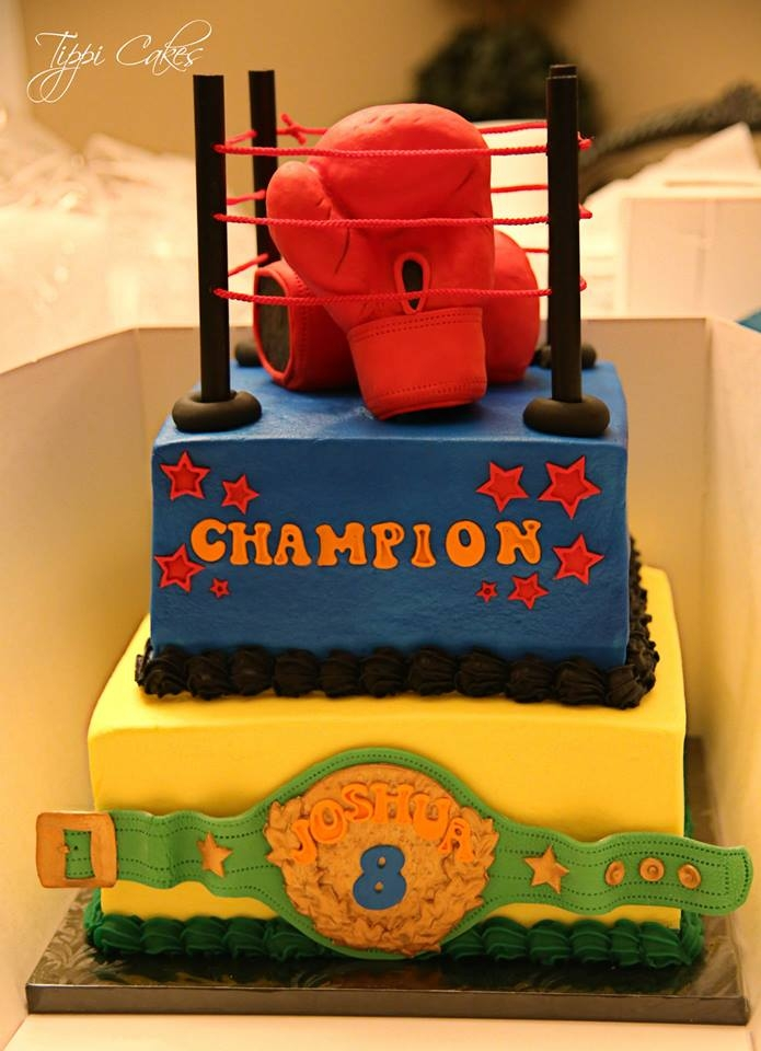 Boxing Champ Cakecentral