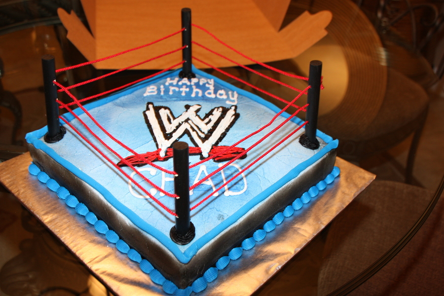 Wwe  on Cake Central