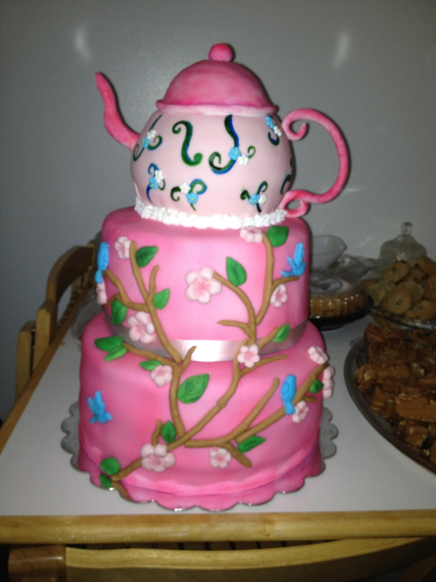 Tea Pot Cake on Cake Central