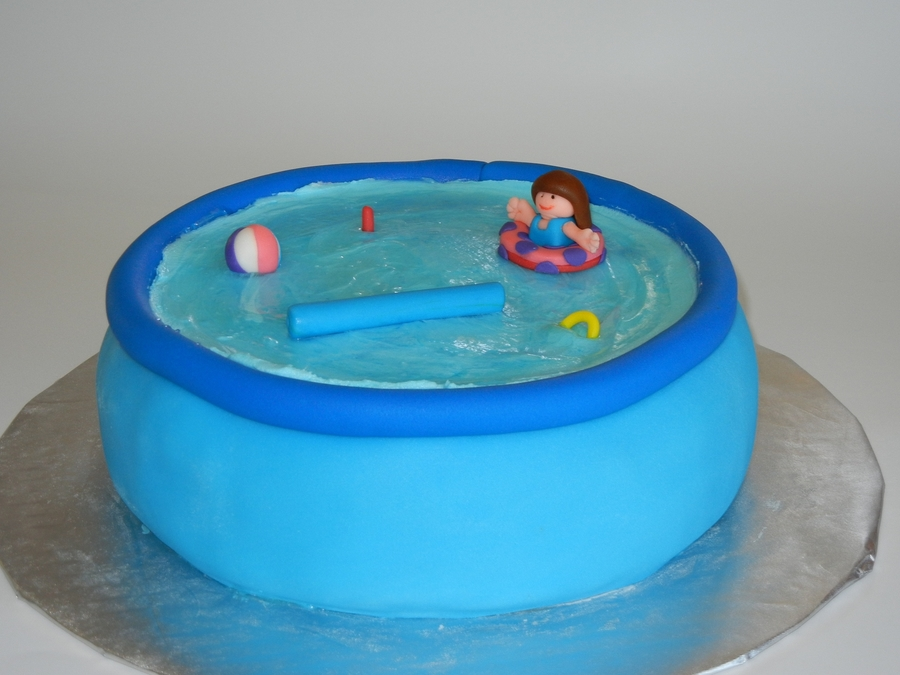 how to make a pool cake
