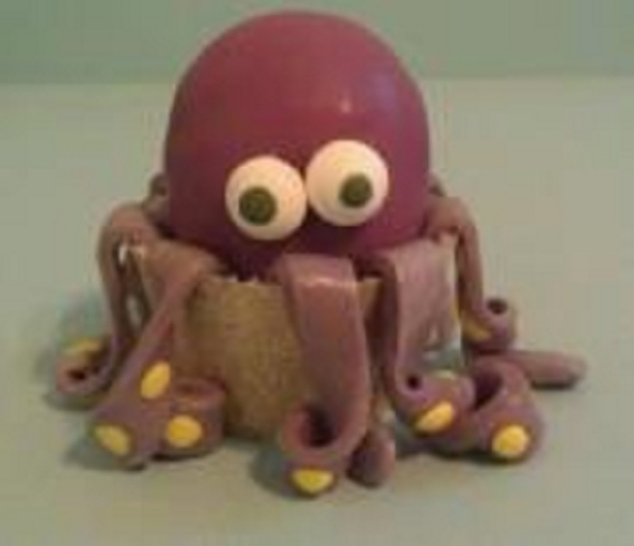 Octopus Cake Ball on Cake Central