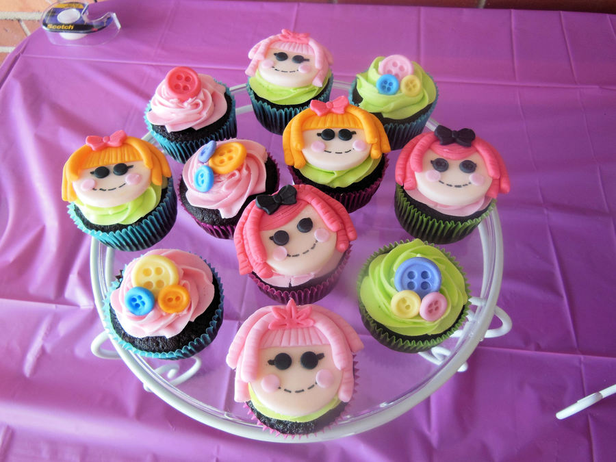 Lalaloopsy Cupcakes on Cake Central