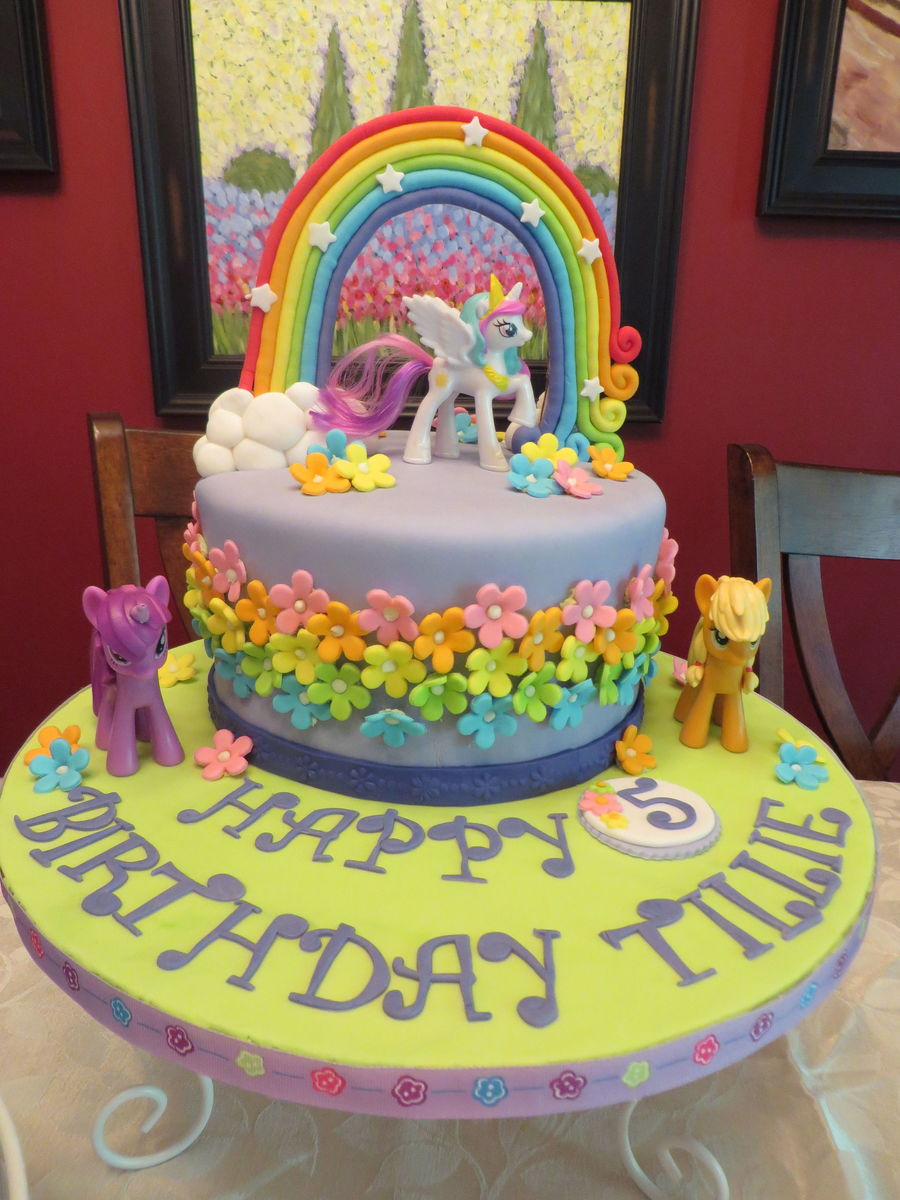 Little Girl Birthday Cake Decorating Ideas