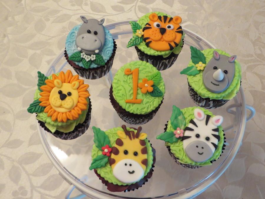 Jungle Cupcakes Cakecentral Com