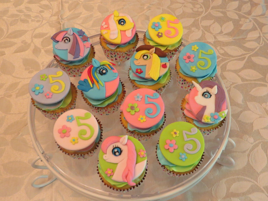 my little pony cupcakes cakecentral com