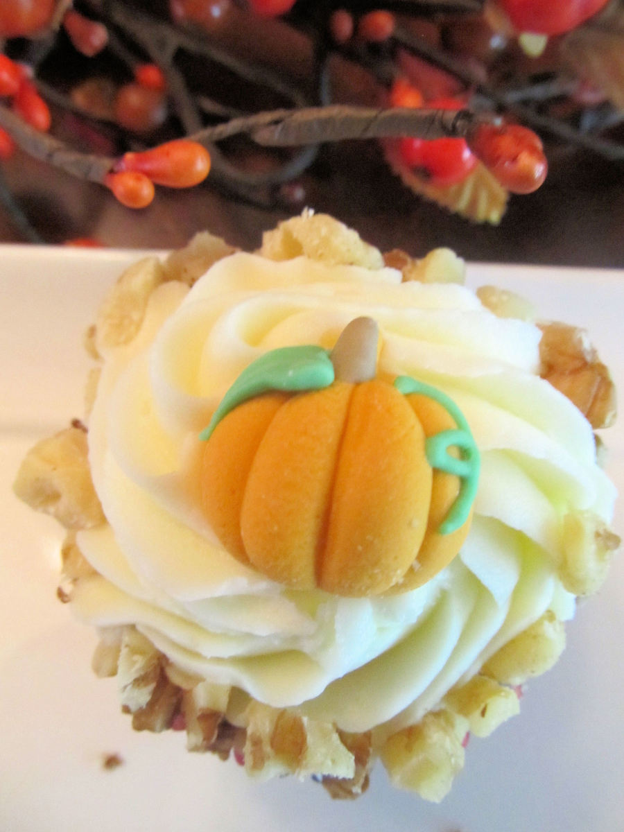 Pumpkin Cupcakes on Cake Central